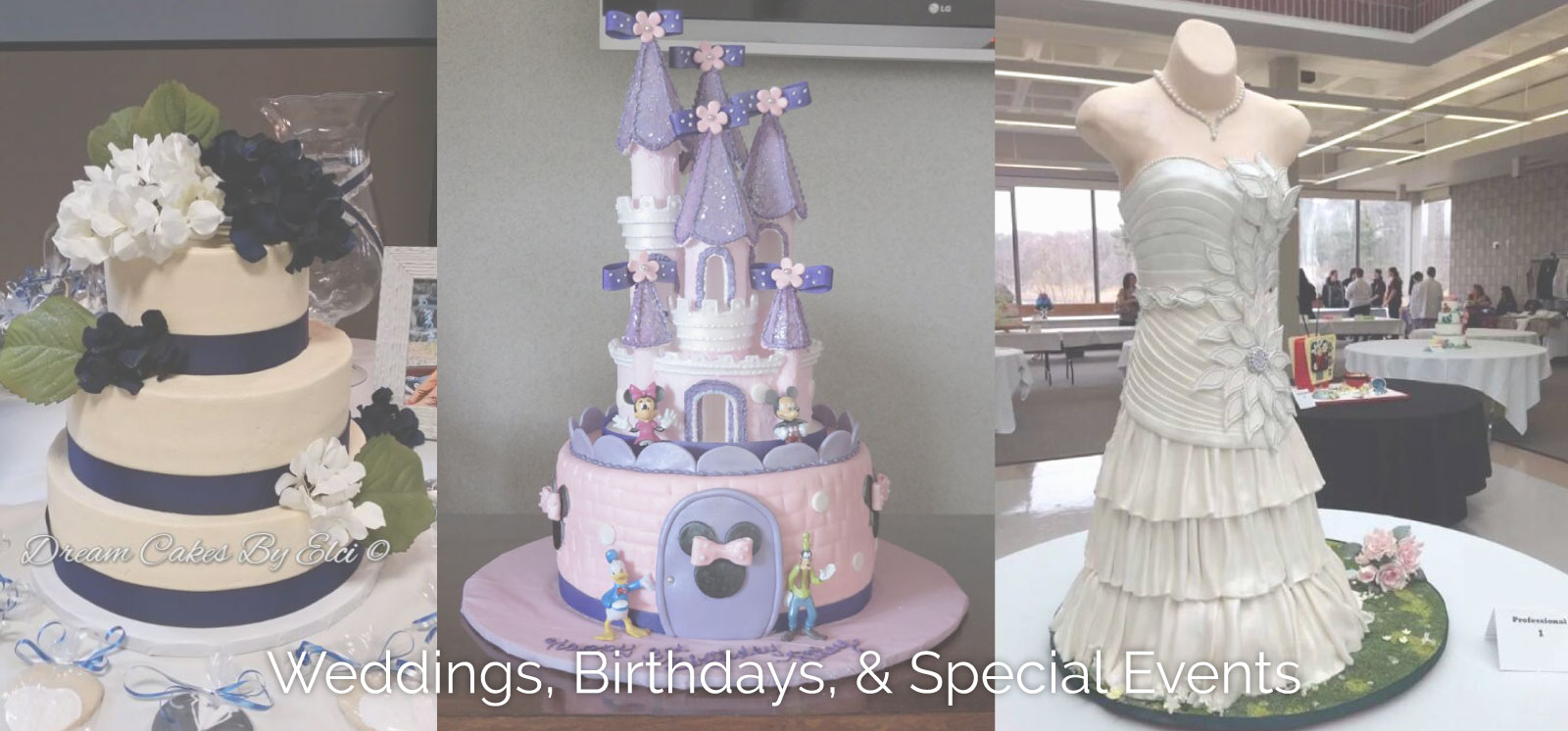 Custom Cakes in New Bedford, Dartmouth, Newport | Dream Cakes by Elci